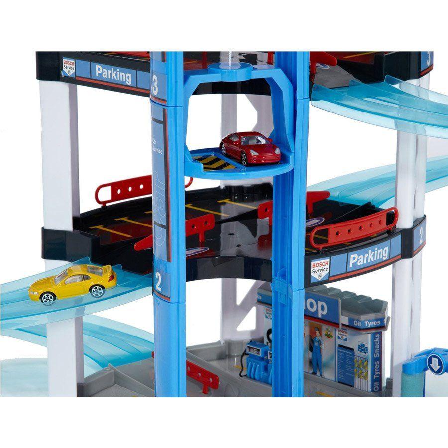 Garage giocattolo a quattro piani garage macchinine for Garage a 2 livelli