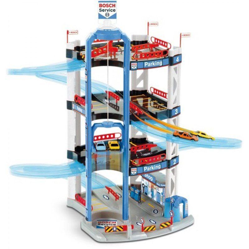 Garage giocattolo a quattro piani di klein un bel regalo for Costo per costruire un garage a 2 piani