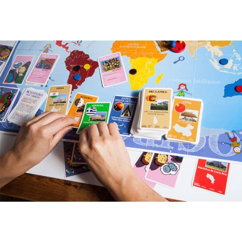 Gioco da tavolo giro giro mondo di creativamente un bel - Partini gioco da tavolo ...