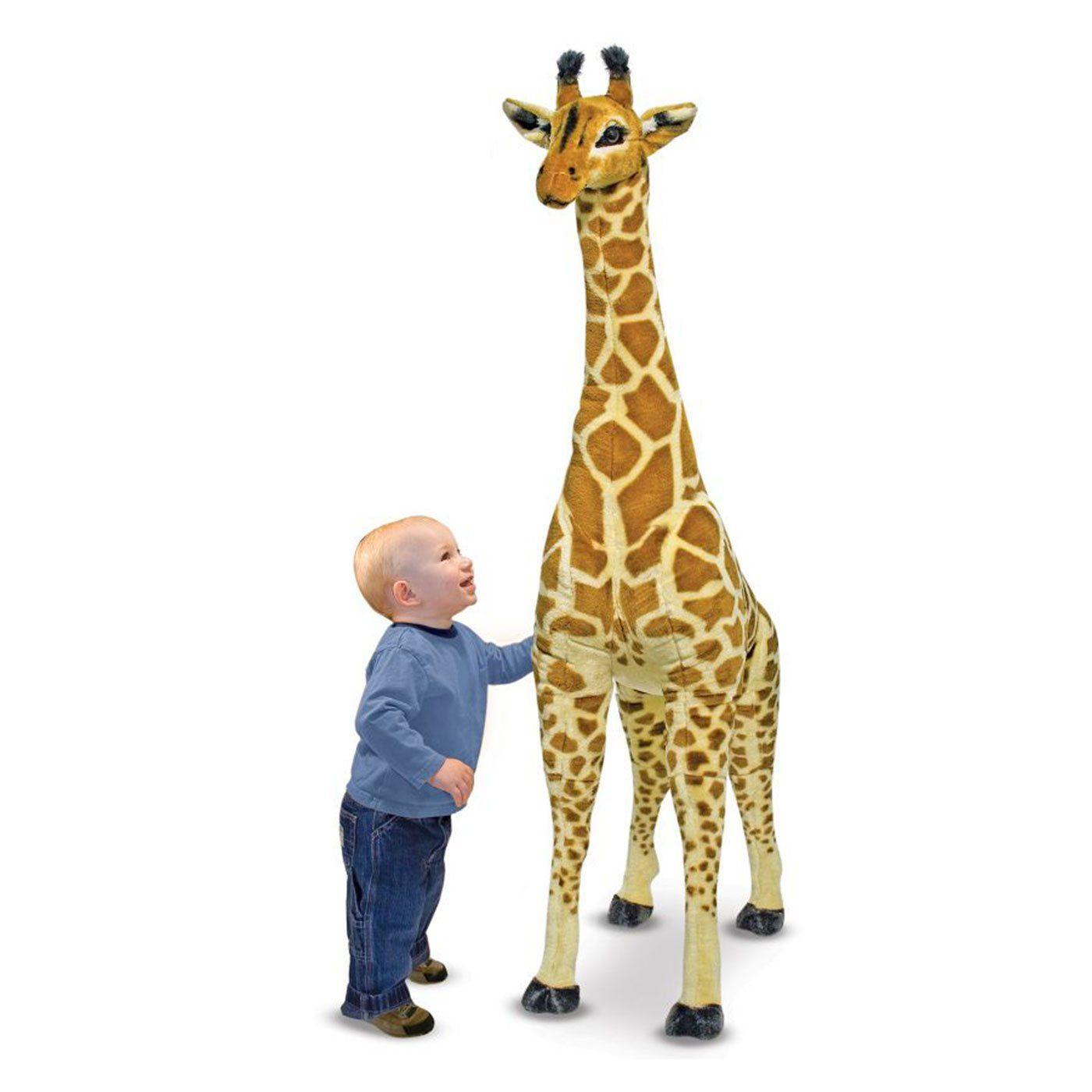 Giraffa peluche gigante di melissa doug un bel regalo for Immagini giraffa per bambini