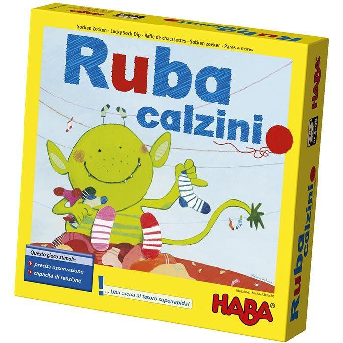 Fabuleux Gioco da Tavolo Ruba Calzini di Haba - un bel regalo per bambini QU75