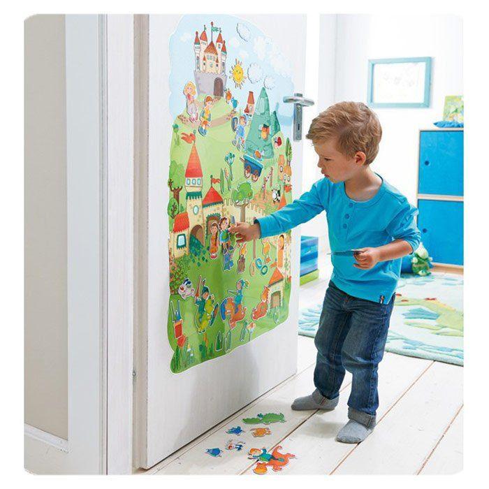 lavagne magnetiche da muro per ragazzi : Pannelli Magnetici da Parete Arredamento Cameretta Cavalieri dei ...