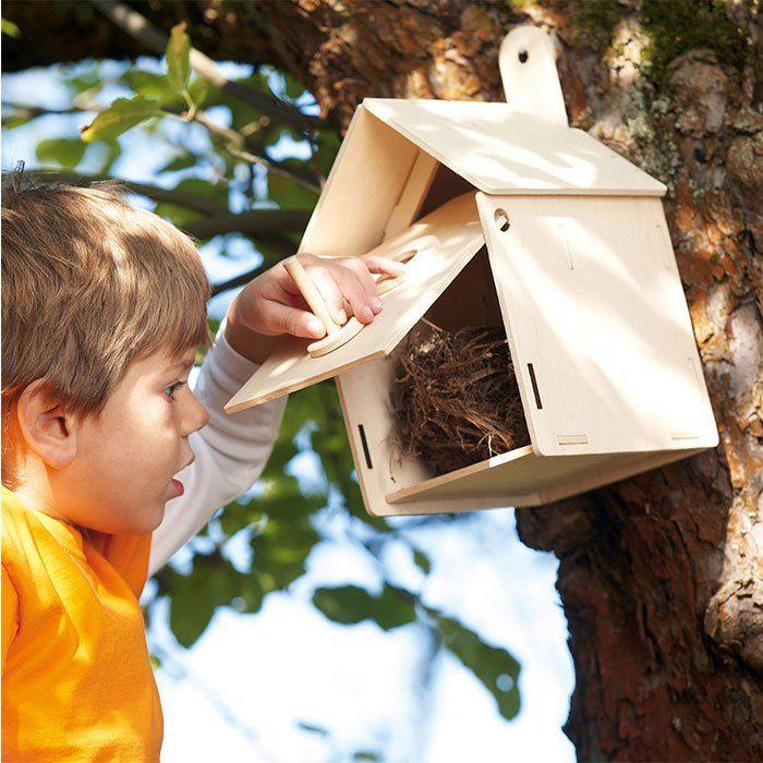 Kit per costruire nido uccelli di haba un bel regalo per - Costruire una casetta ...