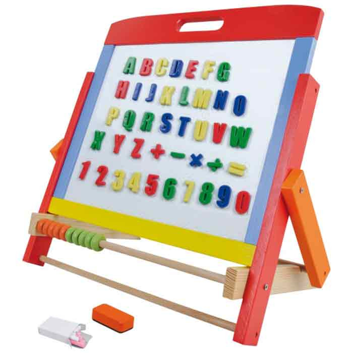 lavagne magnetiche da muro per ragazzi : Lavagna Magnetica da Tavolo per Bambini Giochi di Creativit? ...