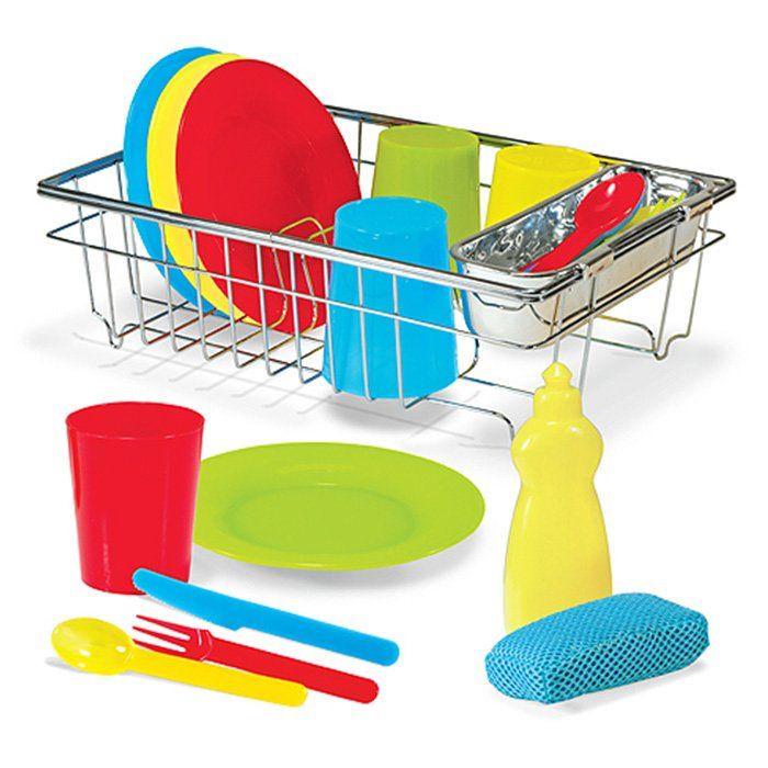 set piatti lava asciuga per bambini