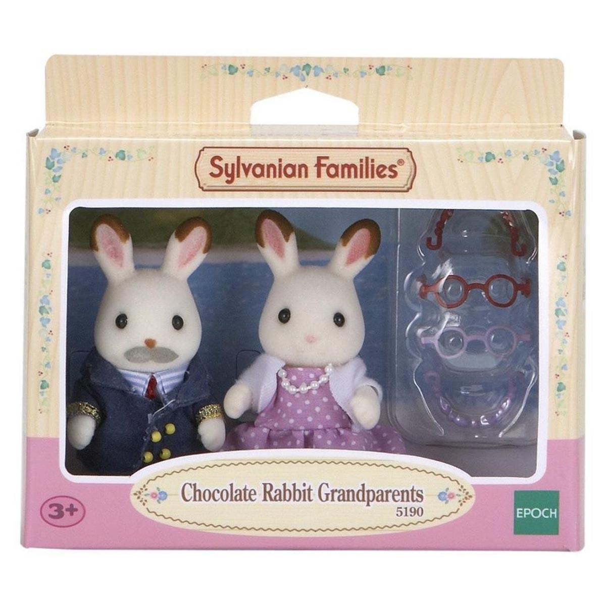 Sylvanian Families Nonni Coniglio Cioccolato Set 5190 i nonni//età 3+