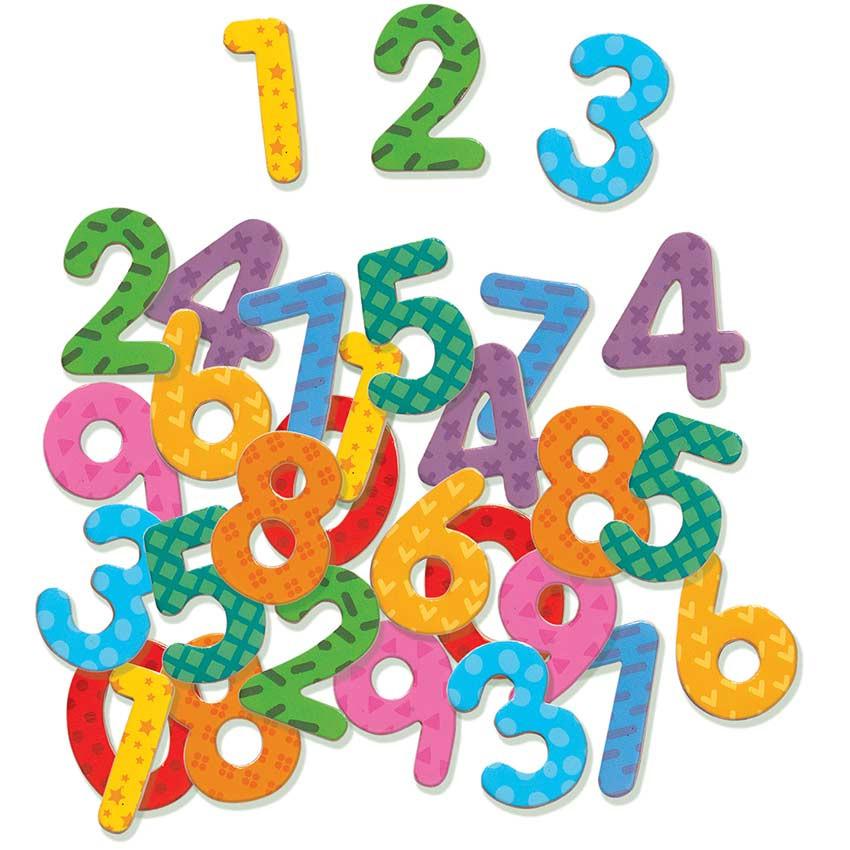 Numeri per bambini magnetici di djeco un bel regalo per - Colore per numeri per i bambini ...