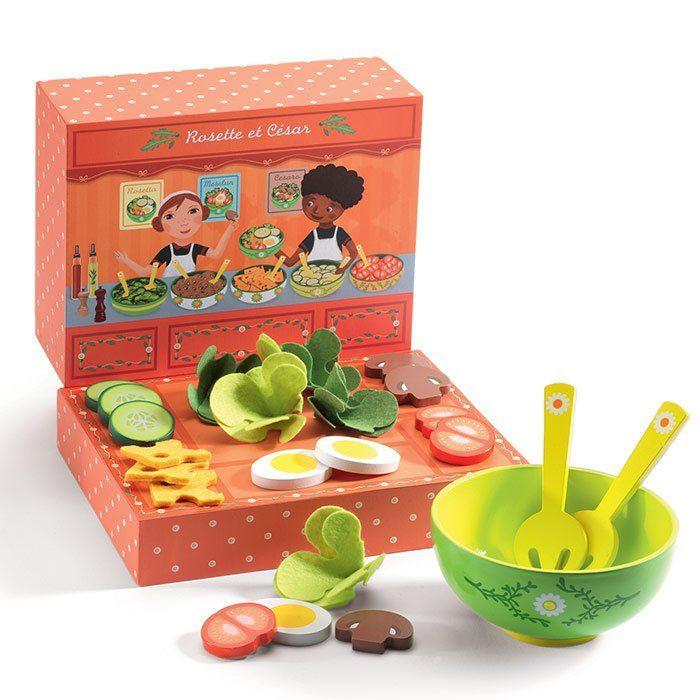 Ristorante giocattolo rosette e cesar di djeco un bel for Accessori cucina giocattolo