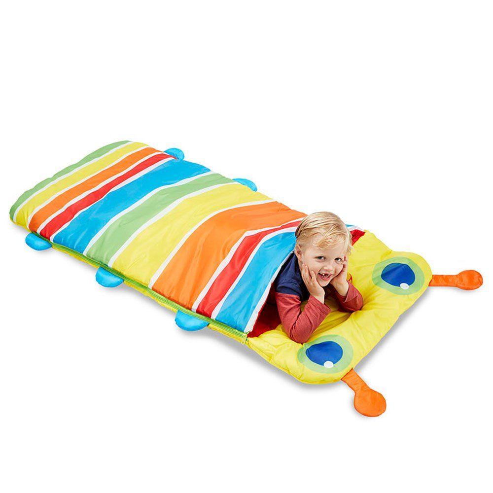 Sacco a pelo per bambini bruco di melissa doug un bel - Sacco letto per bambini ...
