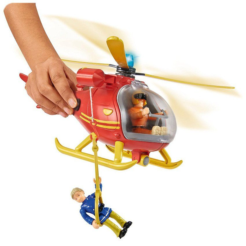 Elicottero Sam Il Pompiere : Sam il pompiere elicottero di simba un bel regalo per
