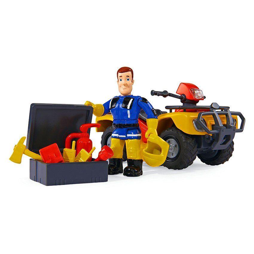 Elicottero Sam Il Pompiere : Sam il pompiere quad di simba un bel regalo per bambini