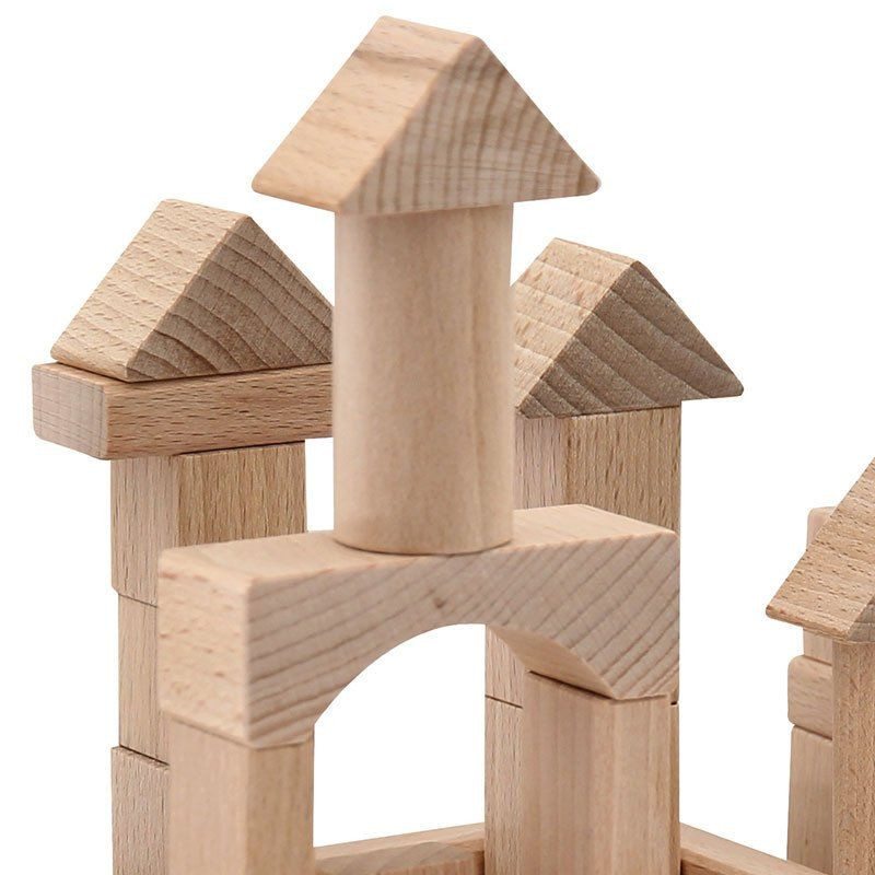 Secchiello costruzioni in legno 90 pz di spielmaus un for Costruzioni in legno