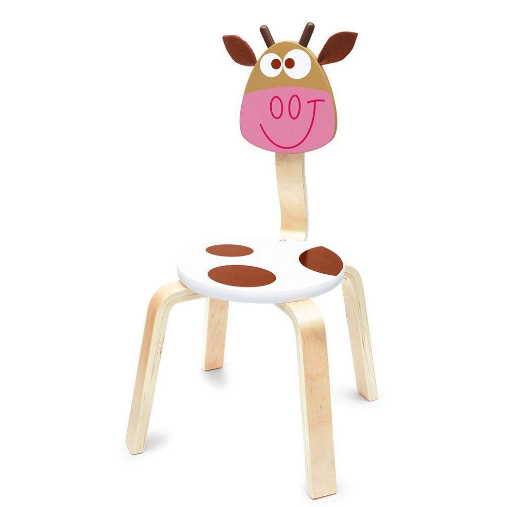 sedia per bambini mucca di scratch un bel regalo per bambini