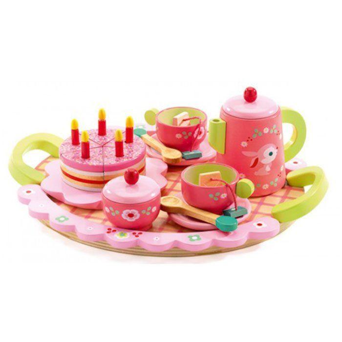 Servizio da Tè per Bambini Rose di Djeco - un bel regalo per bambini
