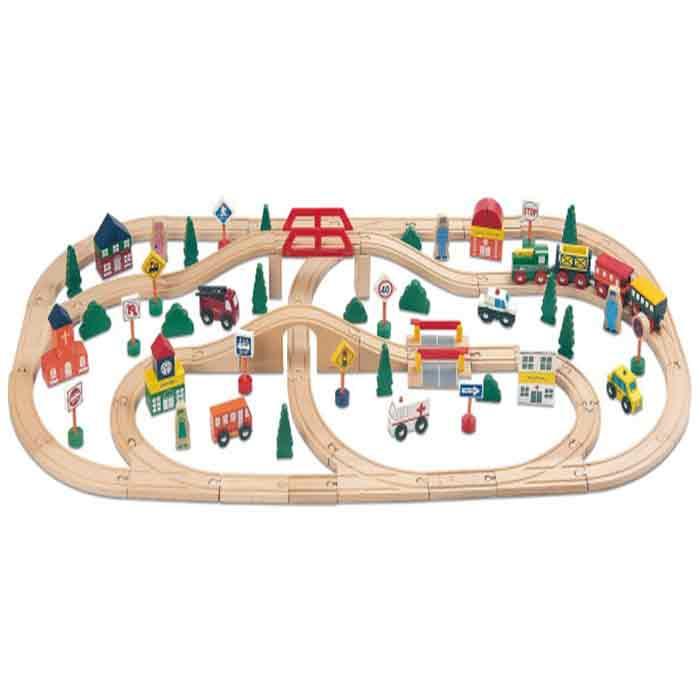 Trenino per bambini di miomio un bel regalo per bambini - Trenino di legno ikea ...