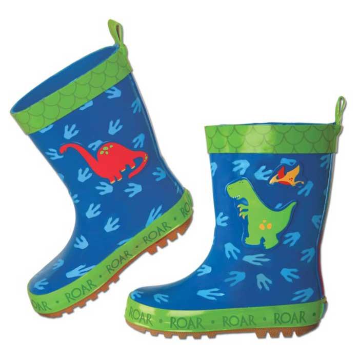 come comprare ultima vendita modelli di grande varietà Stivali di Gomma per Bambini Dinosauro Stephen Joseph