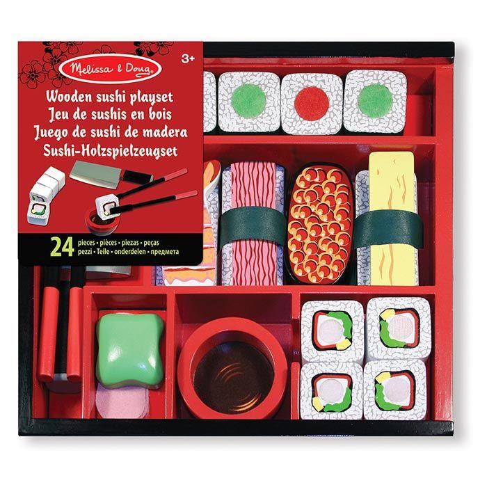 Sushi set accessori cucina giocattolo melissa doug 12608 for Accessori cucina giocattolo