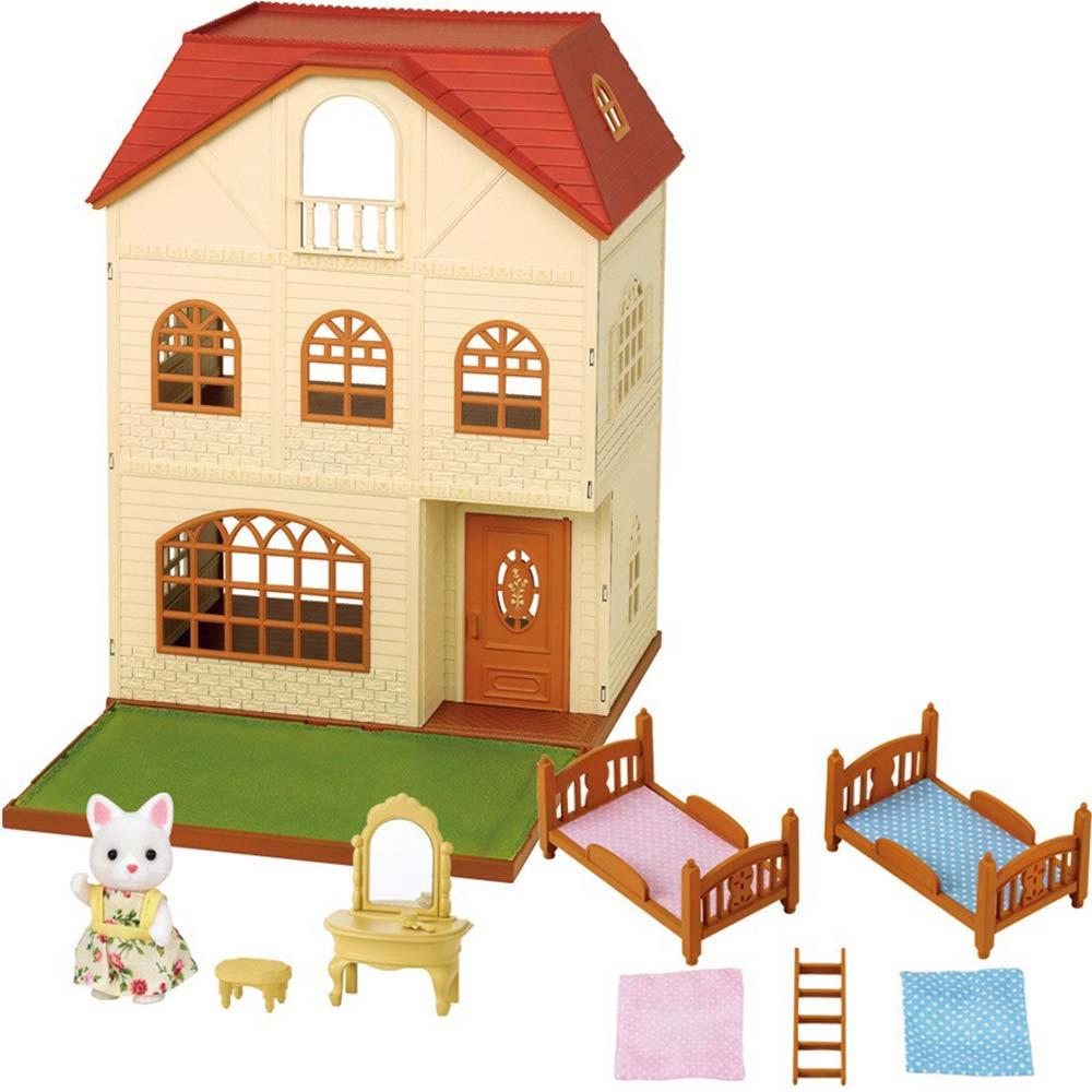 Sylvanian families casa a tre piani di sylvanian families for Piani di costruzione casa