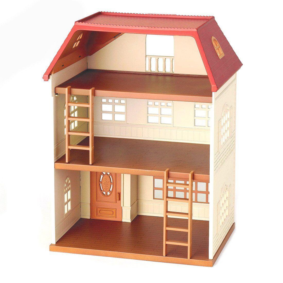 Sylvanian families casa tre piani di sylvanian families for Piani di studio a casa