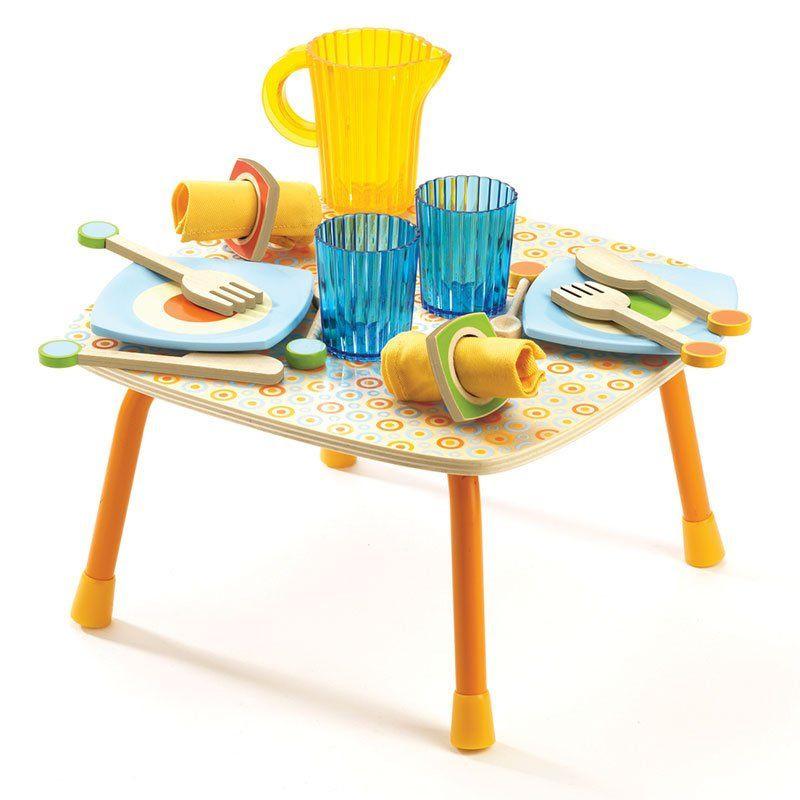 tavolino per cucina gaby di djeco - un bel regalo per bambini - Tavolino Cucina