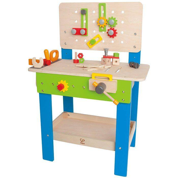 Banco da lavoro per bambini in legno di hape un bel regalo per bambi - Tavolo da lavoro in legno ...