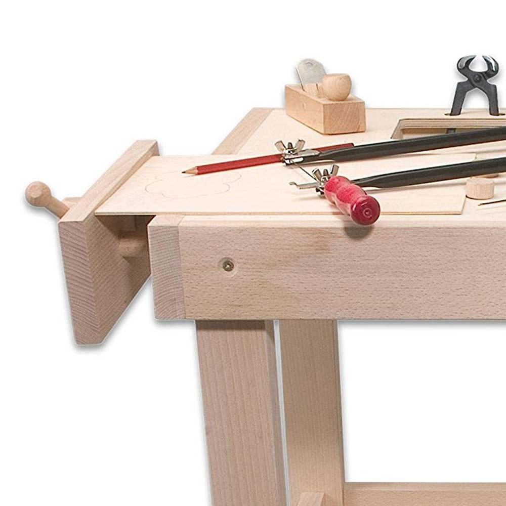 Tavolo da lavoro in legno di pebaro kreativ un bel regalo per bambin - Tavolo da lavoro in legno ...
