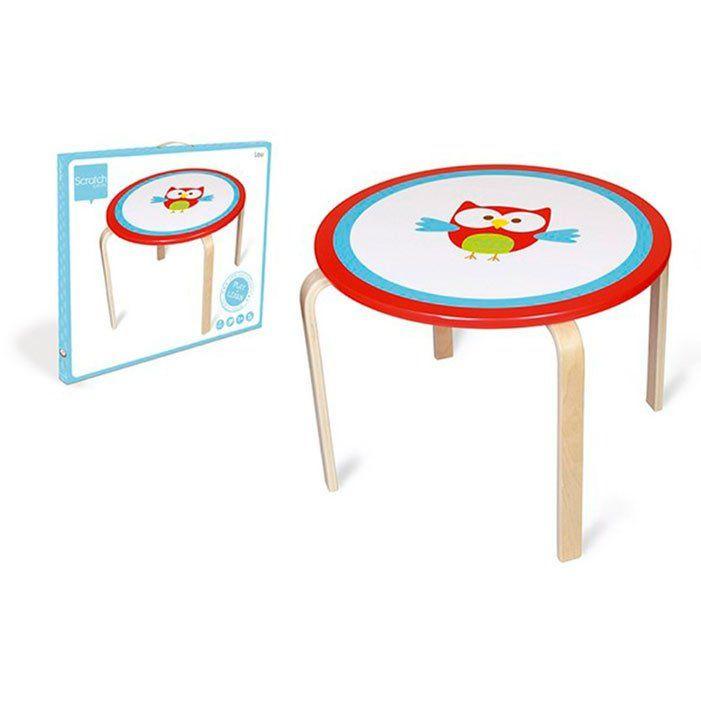 Tavolo Per Bambini Gufo Di Scratch Un Bel Regalo Per Bambini