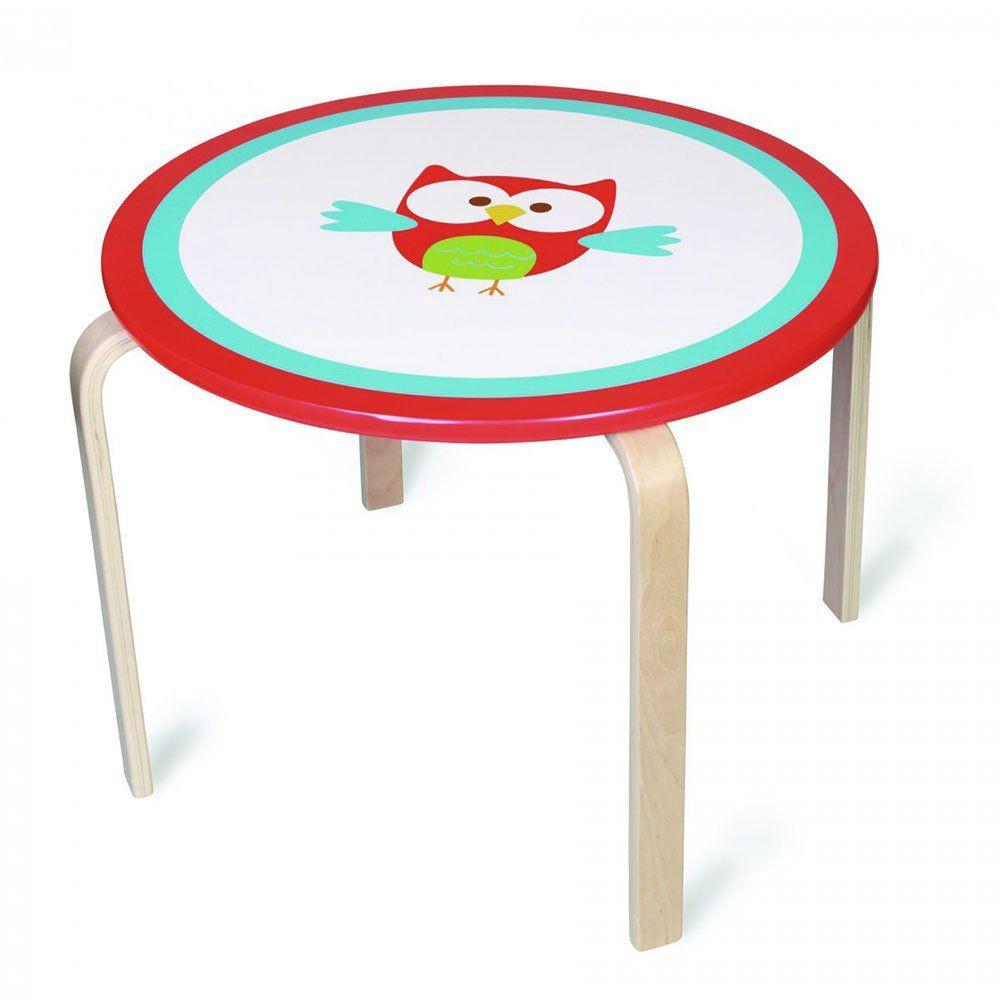 Tavolo per bambini gufo di scratch un bel regalo per bambini - Tavolo e sedia per bambini ...