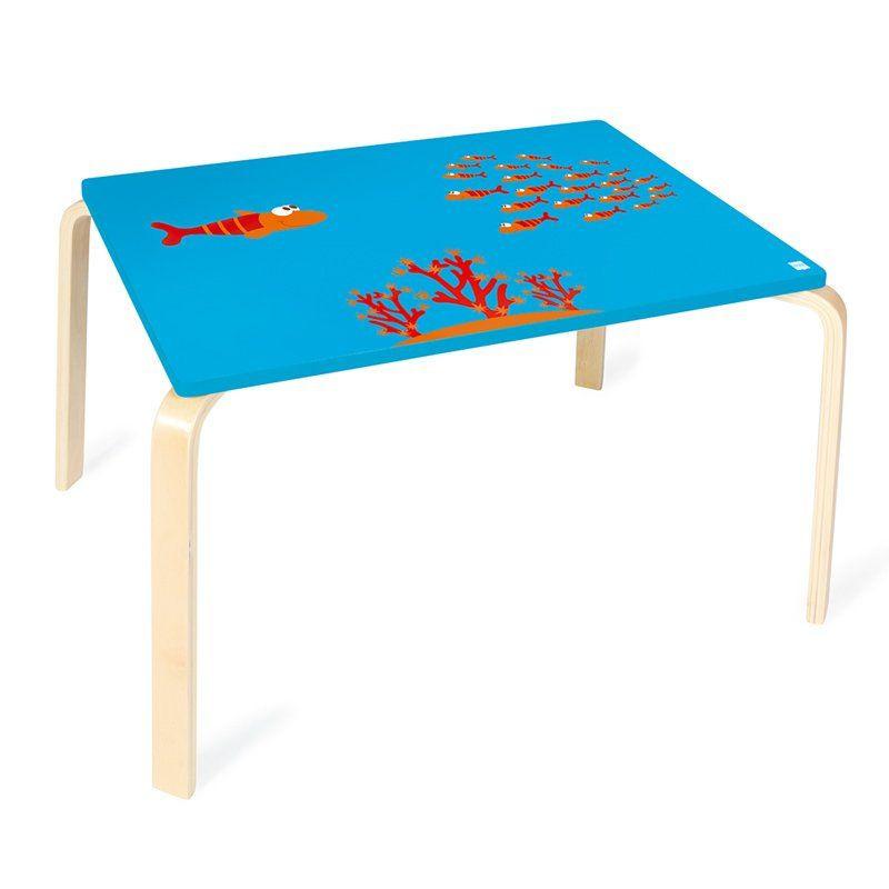 Tavolo per bambini pesciolino di scratch un bel regalo for Tavolo e sedia bambini