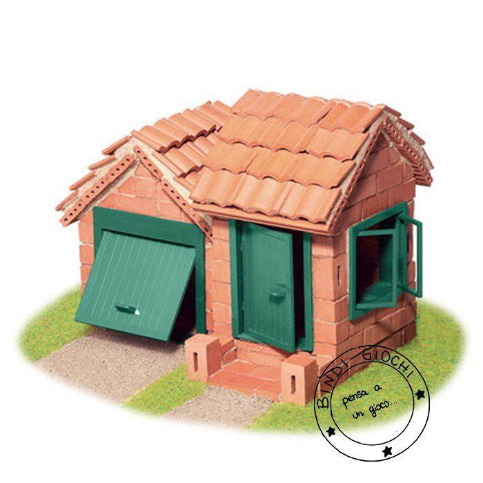 Casa in mattoni gioco per bambini di teifoc un bel for Costo di costruzione casa di mattoni