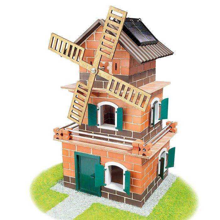Casa mulino gioco per bambini casa mulino a energia solare for Case da costruire