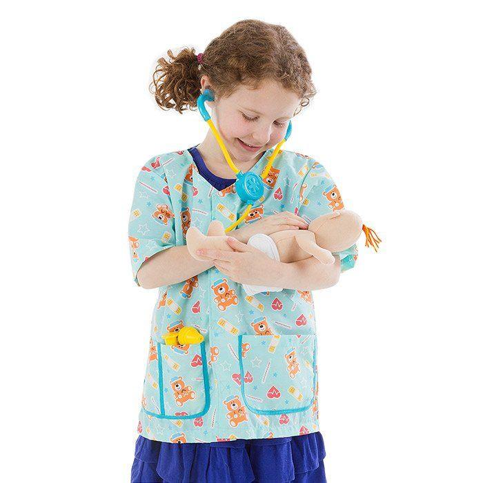 Costume da Infermiere di Melissa Doug - un bel regalo per bambini c82d1ac562b5