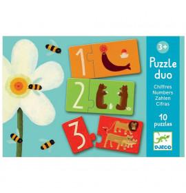 Djeco Puzzle Duo Numeri