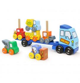 Camion In Legno per Bambini
