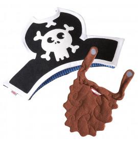 Barba e Cappello da Pirata Haba Capitano Settemari 5725