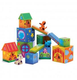 Cubi di Cartone Djeco Cubanimo