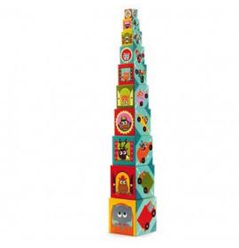 Cubi di Cartone Djeco