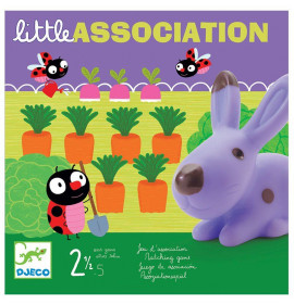 Djeco Gioco da Tavolo Little Association