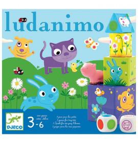 Djeco Gioco da Tavolo Ludanimo 3 in 1