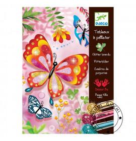 Farfalle Glitter Djeco