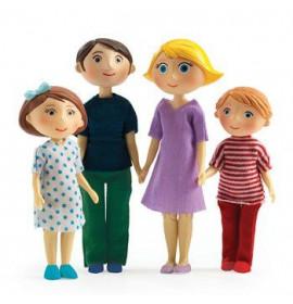 Casa delle Bambole Famiglia di Gaspard e Romy
