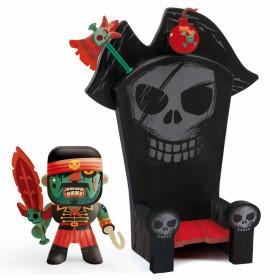 Djeco Arty Toys Pirata e Trono Ze