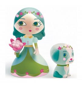 Djeco Arty Toys Principessa Luna e il Cane Blue