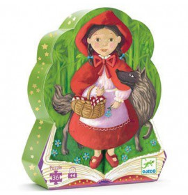 Djeco Puzzle Cappuccetto Rosso