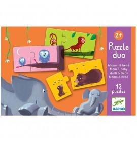 Djeco Puzzle Duo Mamma e Bebe
