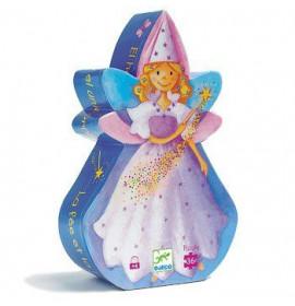 Djeco Puzzle La Fata e l'Unicorno