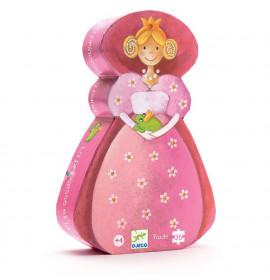 Djeco Puzzle Principessa e il Ranocchio
