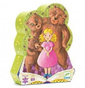 Djeco Puzzle Riccioli d'Oro e i Tre Orsi