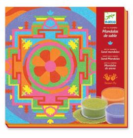 Sabbie Colorate Djeco Mandala