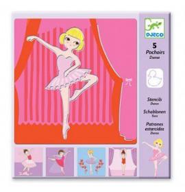 Stencil Ballerina